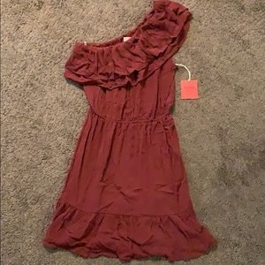 Mossimo Maroon Dress New with Tags